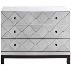 Carlyle 3-Drawer Mirrored Chest
