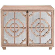 Carlyle 2-Door Mirrored Chest