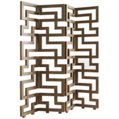 Atherton Eastern Teak Room Divider Screen