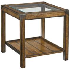 Studio Home Rectangular Gray Oak End Table