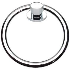 "Equinox Collection 6 13/4"" Polished Chrome Towel Ring"