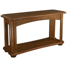 Fremont Rectangular 1-Shelf Sable Sofa Table