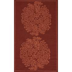 Veranda VR-09 Wine Indoor/Outdoor Area rug