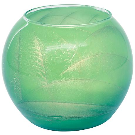 Esque Sea Foam Candle Globe