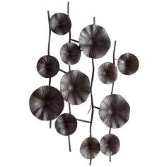 "Poppy Large 45 1/2"" High Wall Decor"