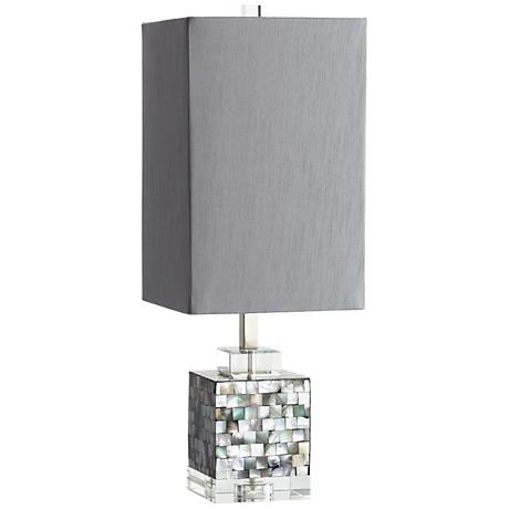 Johor Mother of Pearl Table Lamp