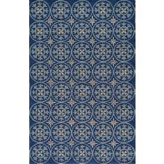Veranda VR-26 Blue Indoor/Outdoor Area Rug
