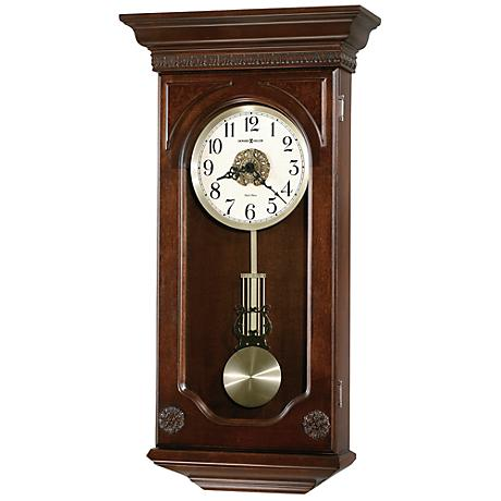 "Howard Miller Jasmine 27"" High Wall Clock"