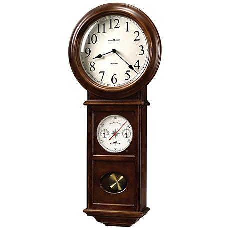 "Howard Miller Crowley 32 1/2"" High Wall Clock"