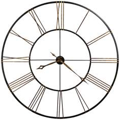 "Howard Miller Postema 49"" Round Wall Clock"