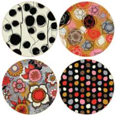 Hindostone Set of 4 Amelia Coasters