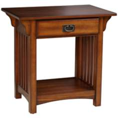 Shiloh Mission Style Medium Oak End Table