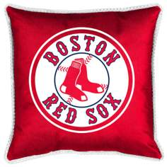 MLB Boston Red Sox Sidelines Pillow