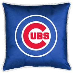 MLB Chicago Cubs Sidelines Pillow