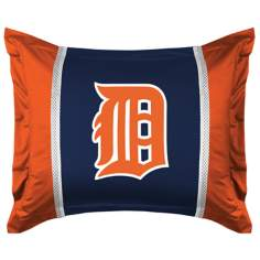 MLB Detroit Tigers Sidelines Pillow Sham