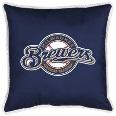 MLB Milwaukee Brewers Sidelines Pillow