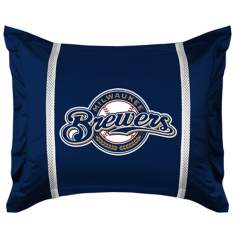 MLB Milwaukee Brewers Sidelines Pillow Sham