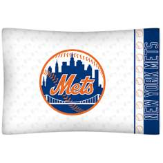 MLB New York Mets Micro Fiber Pillow Case
