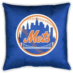 MLB New York Mets Sidelines Pillow