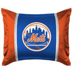 MLB New York Mets Sidelines Pillow Sham