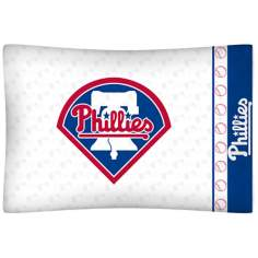 MLB Philadelphia Phillies Micro Fiber Pillow Case