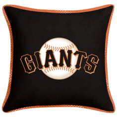 MLB San Francisco Giants Sidelines Pillow