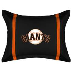 MLB San Francisco Giants Sidelines Pillow Sham