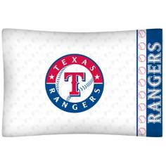 MLB Texas Rangers Micro Fiber Pillow Case