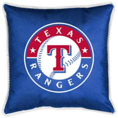 MLB Texas Rangers Sidelines Pillow