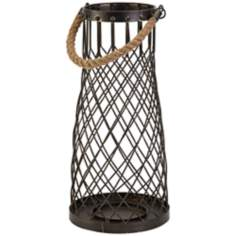 Regatta Large Iron Frame Lantern