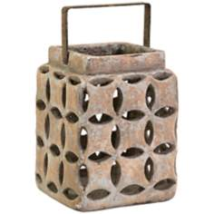 Dayton Small Circle Cement Lantern