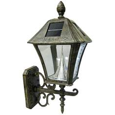 Baytown Solar 6000K 2-Watt LED Bronze Wall Light