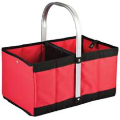 Urban Basket Red Collapsible Tote