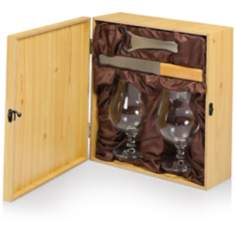 Bavarian Pine and Stainless Beer Accessory Kit
