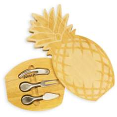 Pineapple Natural Wood Cheese Board