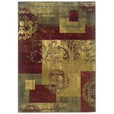 Oriental Weavers Tybee 851U Multicolored Rug