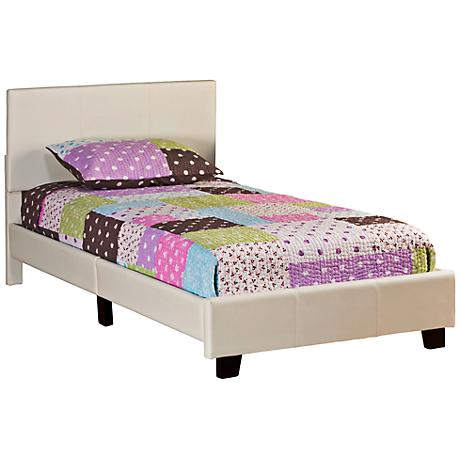 "Hillsdale Springfield ""Bed in a Box"" Cream Twin Bed"