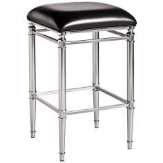 Hillsdale Riverside Non-Swivel Backless Bar Stool