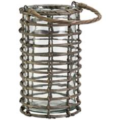 Cosmic Large Willow Candle Lantern