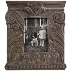 Hamlin Large Carved Wood Photo Frame