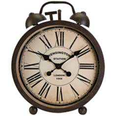 Martin Oversized Iron Table Clock