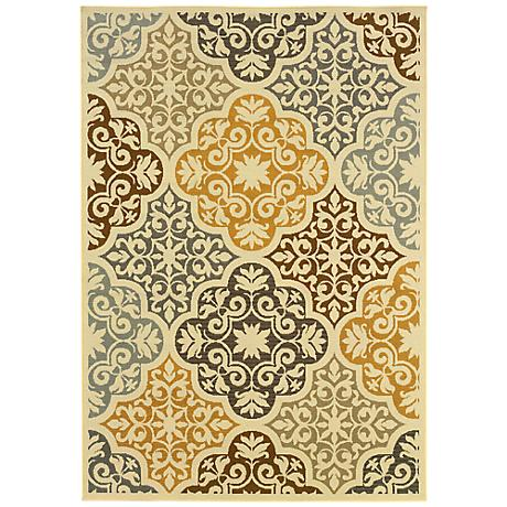 Oriental Weavers Bali Collection 4904W Indoor-Outdoor Rug
