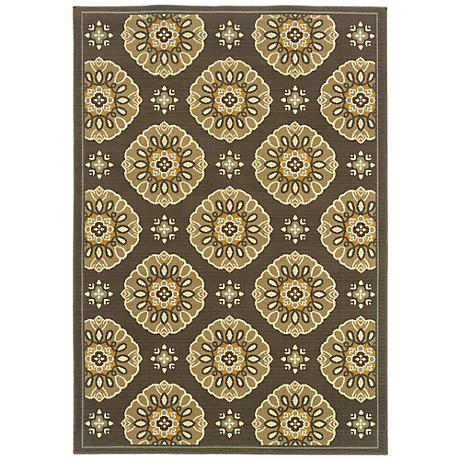 Oriental Weavers Bali Collection 5863N Indoor-Outdoor Rug