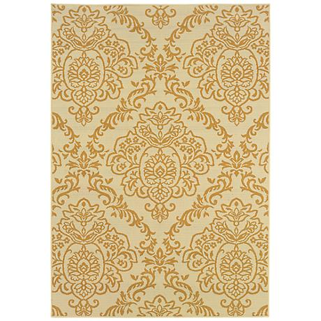 Oriental Weavers Bali Collection 8424J Indoor-Outdoor Rug