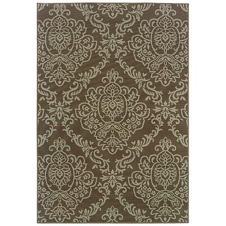 Oriental Weavers Bali Collection 8424P Indoor-Outdoor Rug
