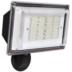 Bronze Wall Pack 42 Watt LED Outdoor Sensor Floodlight