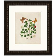 "Butterflies III 17"" High Wall Art"