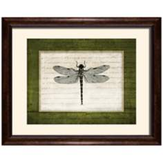 "Dragonflies I 19 1/2"" Wide Wall Art"