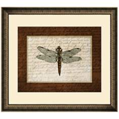 "Dragonflies II 19 1/2"" Wide Wall Art"