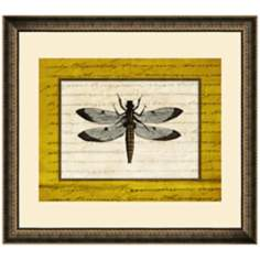 "Dragonflies III 19 1/2"" Wide Wall Art"